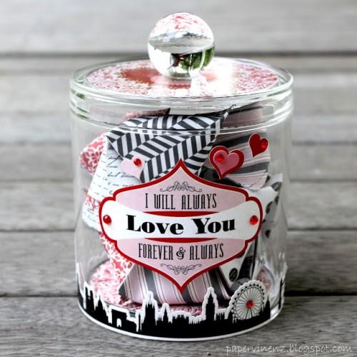 DIY dates jar