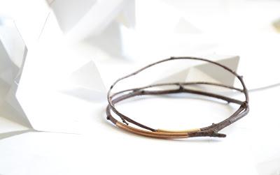 branch bracelet  (via touchedubois)
