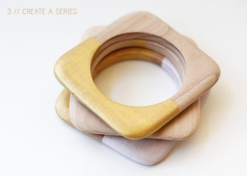 colorblock bangles (via warmhotchocolate)