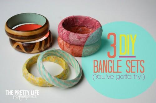 wooden bangle bracelets (via prettylifeanonymous)