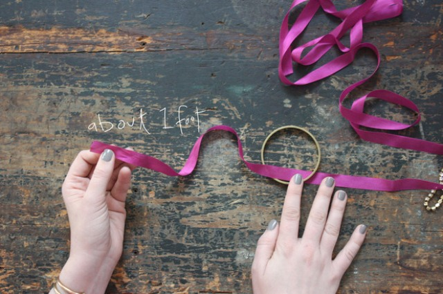 Elegant Diy Azalea Wrapped Bangle