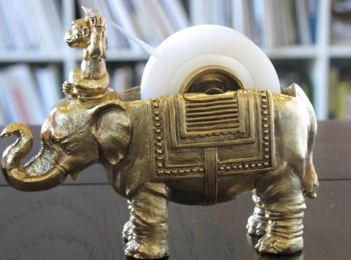 Elephant And Monkey Tape Dispenser