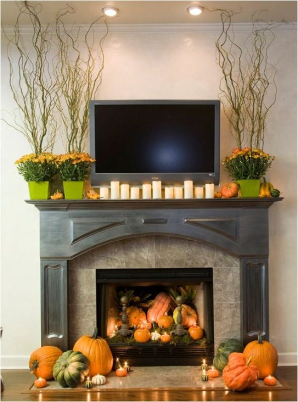 63 exciting fall mantel d cor ideas photo 10