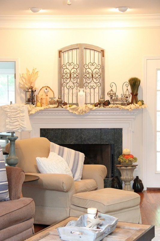 87 Exciting Fall Mantel D cor Ideas Shelterness – Decorate a Mantel
