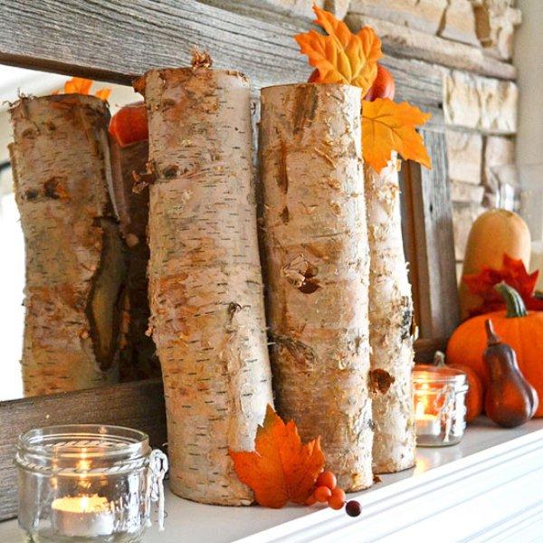 Rustic Mantel Decorating Ideas Excellent Fall Fireplace Mantel – Fall Mantel Decorations