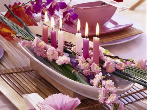 15 Ideas To Make Exotic Flower Arrangements To Decorate Your Table