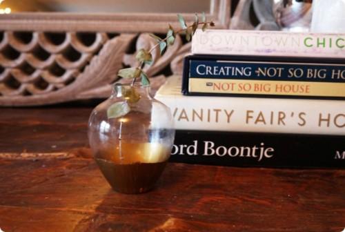 Exquisite Diy Glden Vase