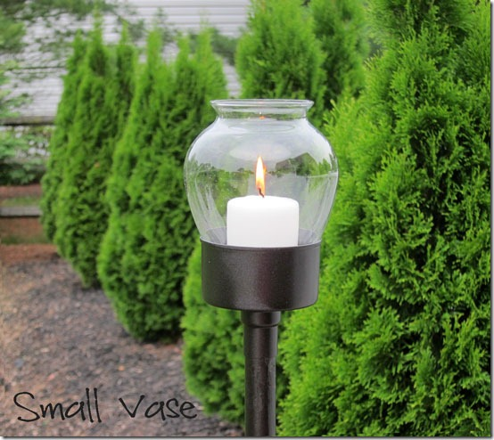 picture of extremly cool diy outdoor candle lanterns