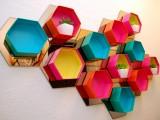 Eye Catching Diy Hexagon Shelves