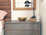 urban bronze nightstand makeover