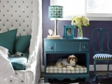 pet bed and nightstand in one revamp