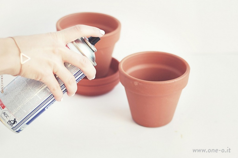 Picture Of eye catching diy terracotta planter restyling  2