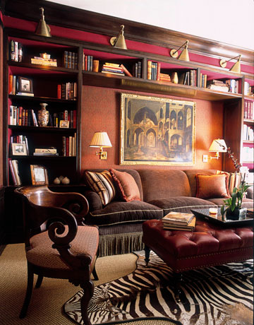 15 Fabulous Home Library Room Designs | Shelterness