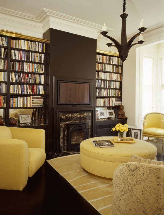 15 fabulous home library room designs photo 0