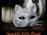 retrofabulous sparkle kitty mask