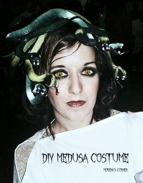 Medusa snakes headband (via morenascorner)