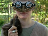 steampunk googles mask