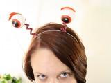 ping pong eyeballs headband