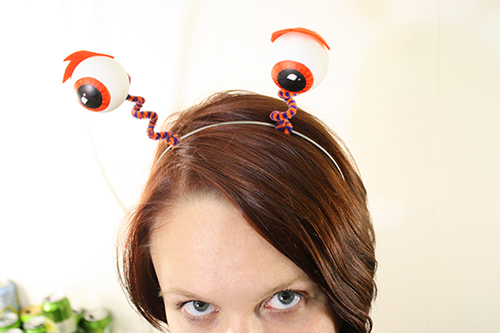ping pong eyeballs headband via tallystreasury