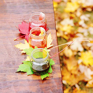 20 Fall Decorating Ideas With Using Dry Leaves And Fruits » Photo 7