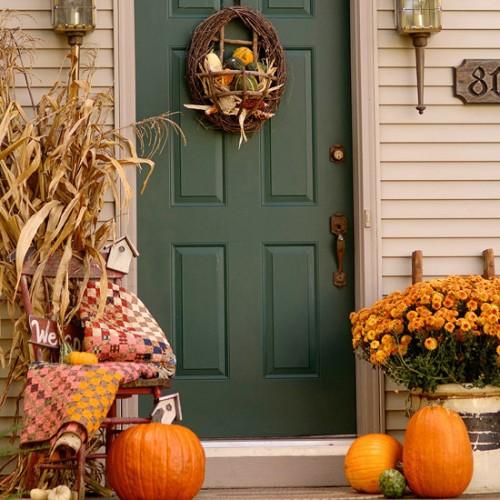 Хэллоуин: как украсить придомовую территорию.