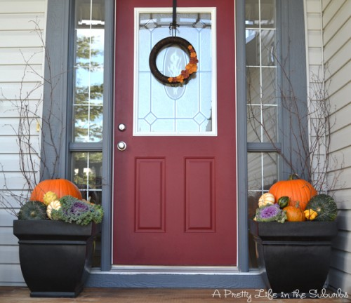 Front Porch Decorating: 120 Fall Porch Decorating Ideas