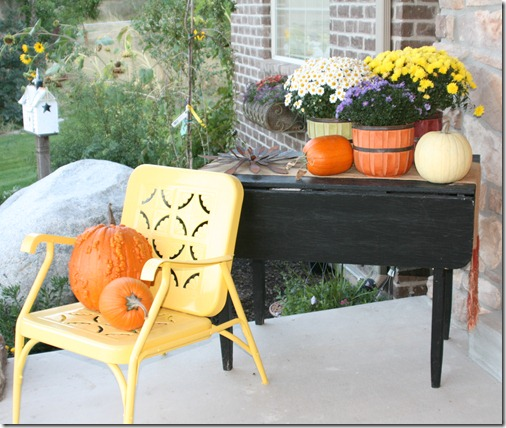 Picture Of Fall Front Porch Decorating Ideas
