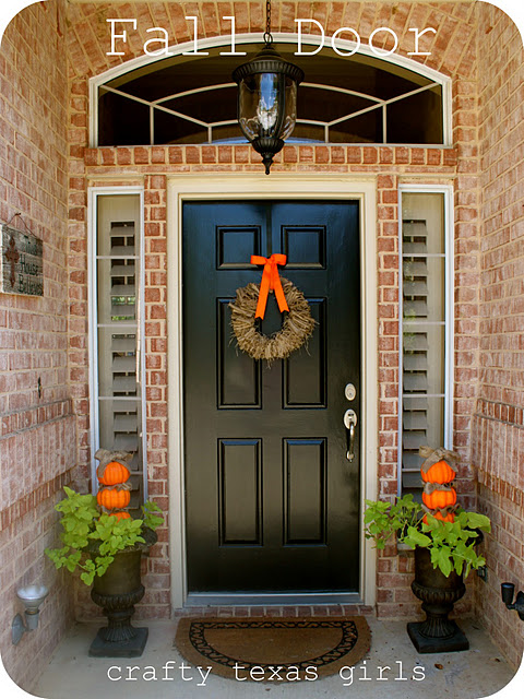 Picture of fall front porch decorating ideas Small front porch decorating ideas for fall