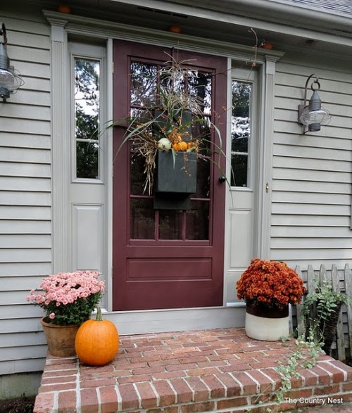 47 Cool Small Front Porch Design Ideas: 120 Fall Porch Decorating Ideas