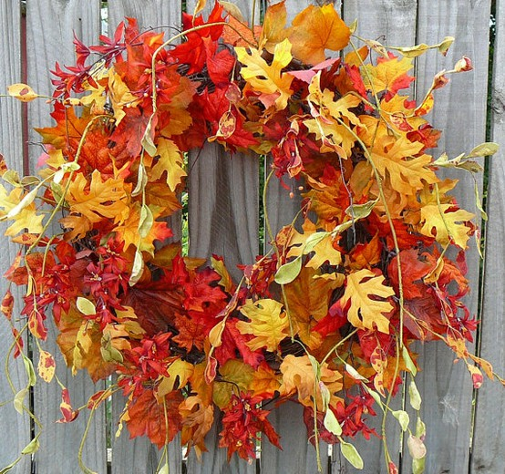 picture of fall wreath ideas
