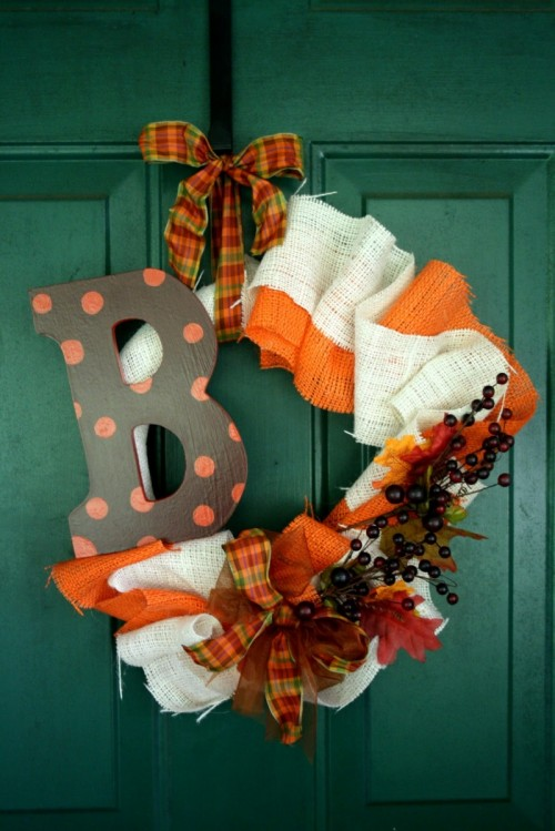 fall wreath craft ideas 115 cool fall wreath ideas shelterness 4429