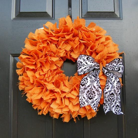101 Cool Fall Wreath Ideas » Photo 92