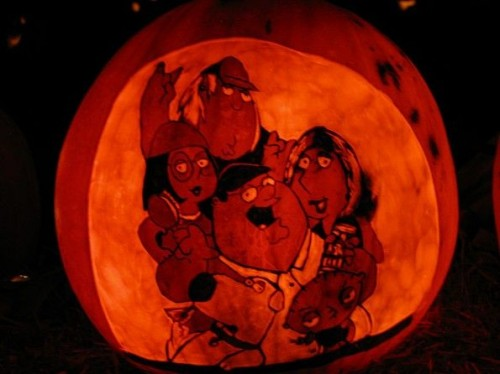Family Guy Griffin Pumpkin