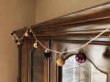 Fashionable Diy Christmas Metallic Garland