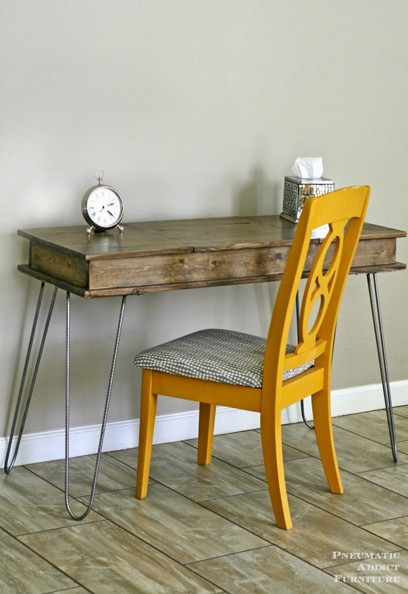 Picture Of fashionable industrial diy hairpin legs vanity  1