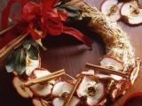 cinnamon and apple wreath