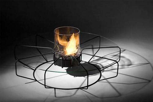 Fire Coffee Table (via)