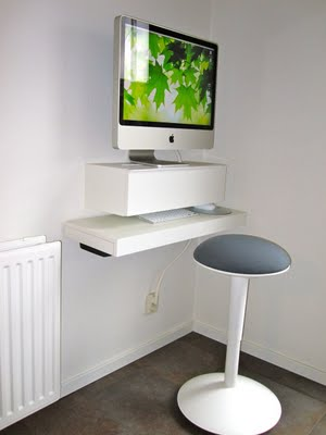 Diy Computer Desk With Shelves