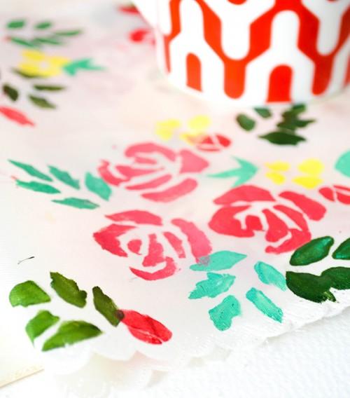 floral stamped fabrics (via onceuponherdream)
