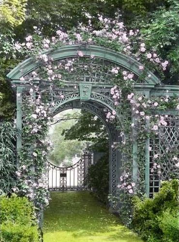 Flower Garden Archways