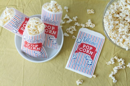 photo relating to Popcorn Bag Printable referred to as 5 Great And Cost-free Popcorn Bag Templates - Shelterness