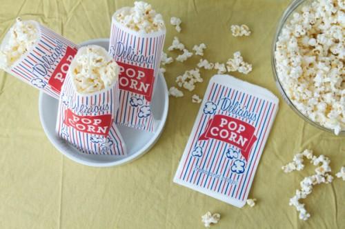 Free Popcorn Bag Printable