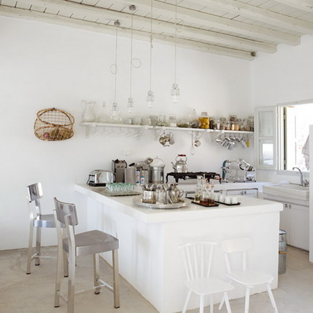 French Decorating Elemetns On Kitchens