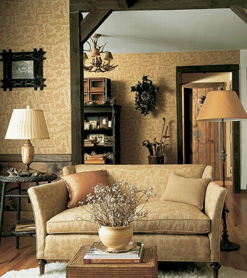 Natural Rustic Elements Of Decor Is The Easiest Way To Turn Your Interior  Into This Popular