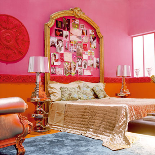French Pricess Bedroom Design