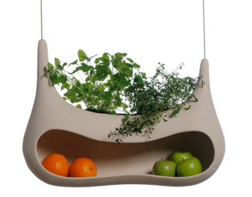 Fruit Holder And Herbs Pot