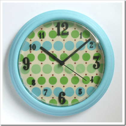 cheap clock makeover (via abernathycrafts)