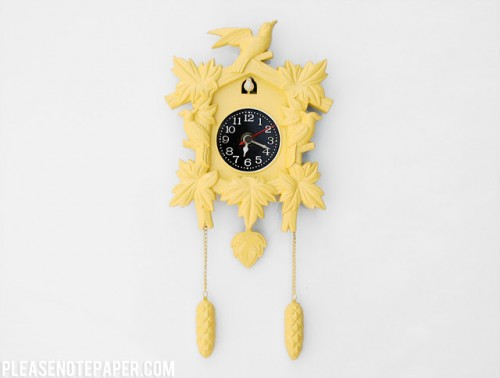 cuckoo clock renovation (via pleasenotepaper)