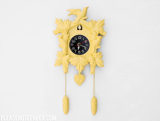 cuckoo clock renovation