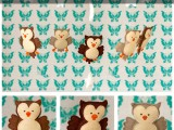 owl baby mobile